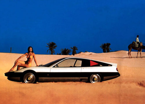 Ferrari advertisement, 1974.