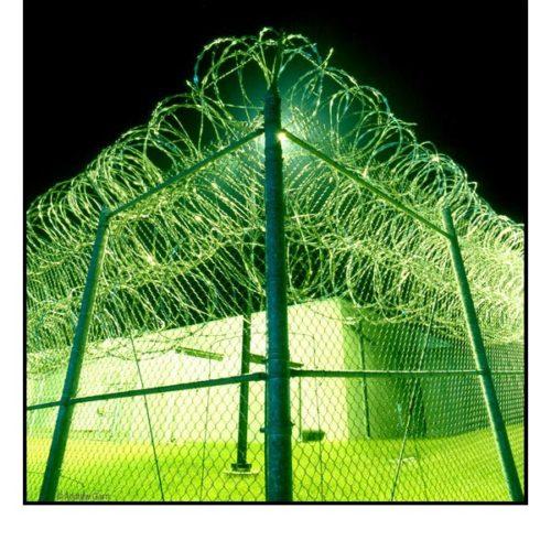 Andrew Garn, photography (CCA fence, prison Nashville TN.)